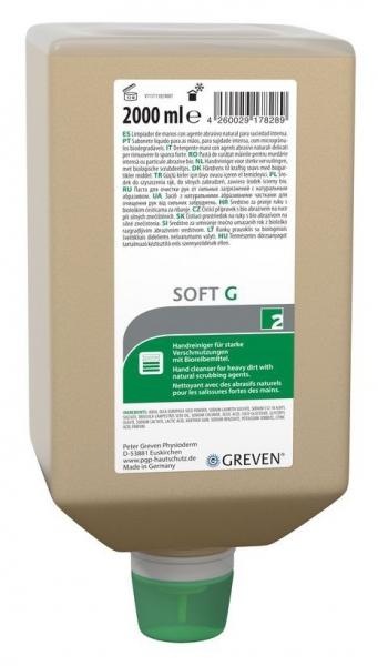 GREVEN-Hand-/Hände-Reiniger, Reinigungslotion, Greven Soft G, 2000 ml