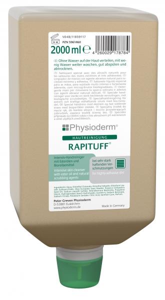 GREVEN-Hand-/Hände-Reiniger, HAUTREINIGUNG, Rapituff, 2000 ml Varioflasche