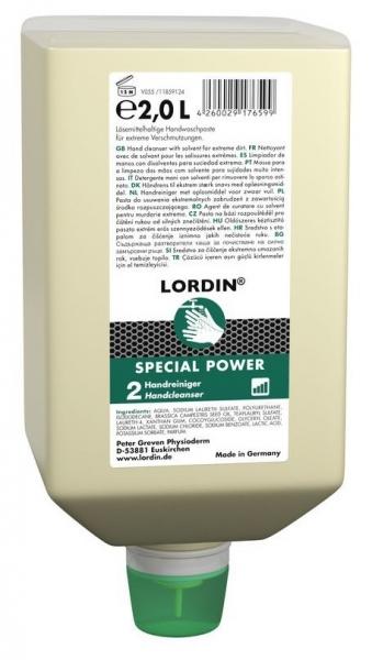 GREVEN-Hand-/Hände-Reiniger, HAUTREINIGUNG, Lordin Special Power, 2000 ml Varioflasche