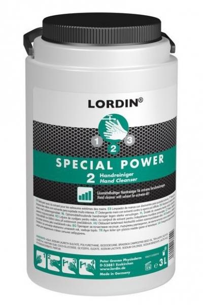 GREVEN-Hand-/Hände-Reiniger, HAUTREINIGUNG, Lordin Special Power, 3 Liter PE-Dose