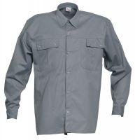 HAVEP-Workwear-Arbeits-Berufs-Hemd, 2000, Langarm, 195 g/m², grau