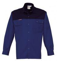 HAVEP-Workwear-Arbeits-Berufs-Hemd, 2000, Langarm, 195 g/m², kornblau/marine