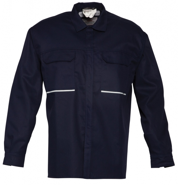 HAVEP-Hemd, Langarm, 205 g/m², dunkelmarine