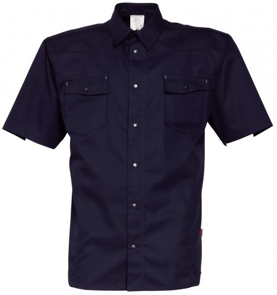 HAVEP-Workwear-Arbeits-Berufs-Hemd, Basic, Kurzarm, 195 g/m², marine