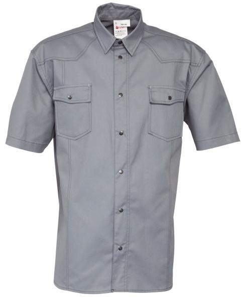 HAVEP-Hemd, Kurzarm, 195 g/m², grau