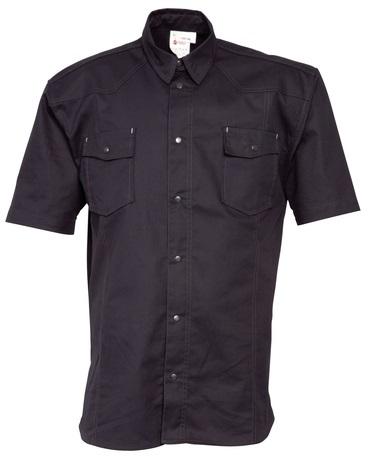 HAVEP-Hemd, Kurzarm, 195 g/m², schwarz
