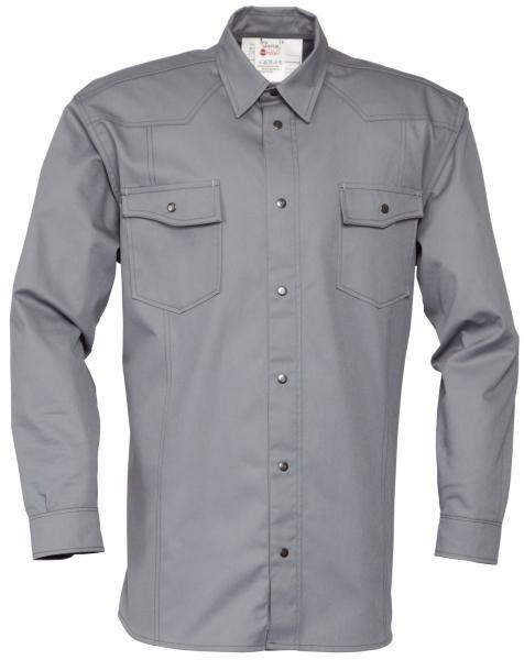 HAVEP-Hemd, Langarm, 195 g/m², grau