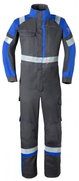 HAVEP-Safety Image +, Schweißer-Overall, Reflexstreifen, kohlengrau/kornblau
