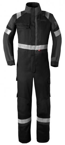HAVEP-Safety Image +, Schweißer-Overall, Reflexstreifen, schwarz/kohlengrau