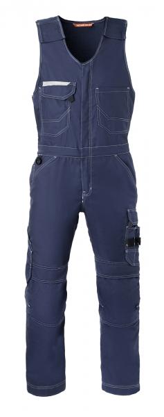 HAVEP-Attitude, Warnschutz-Bodyhose, retroreflektierende Biese, marine