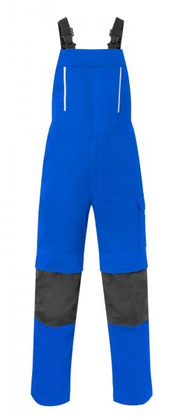 HAVEP Latzhose mit Knietaschen, kornblau/kohlengrau