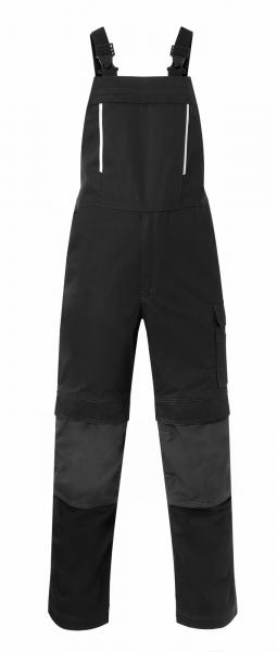 HAVEP Latzhose mit Knietaschen, schwarz/kohlengrau