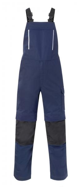 HAVEP Latzhose mit Knietaschen, marine/kohlengrau
