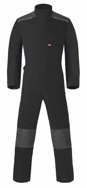 HAVEP Overall mit Knietaschen, schwarz/kohlengrau