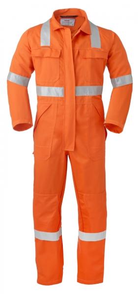 HAVEP-Overall, Reflektionsstreifen, orange