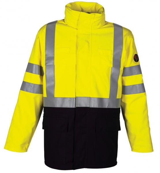 HAVEP-Warnschutz-Parka, 320 g/m², marine/fluor-gelb