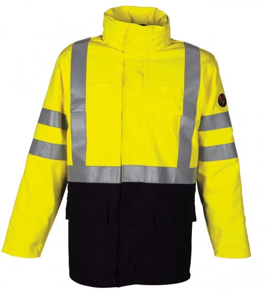 HAVEP-Warnschutz-Parka, 280 g/m², marine/fluor-gelb