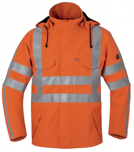 HAVEP-Warnschutz-Parka, 395 g/m², fluor-orange