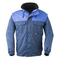 HAVEP-Arbeits-Berufs-Jacke, Allwetterjacke, 240 g/m², marine/kornblau
