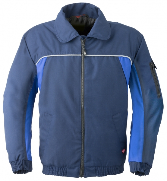 HAVEP-Winter-Arbeits-Berufs-Piloten-Jacke, 260 g/m², marine/kornblau
