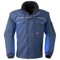 HAVEP-Arbeits-Berufs-Jacke, Allwetterjacke, 260 g/m², marine/kornblau