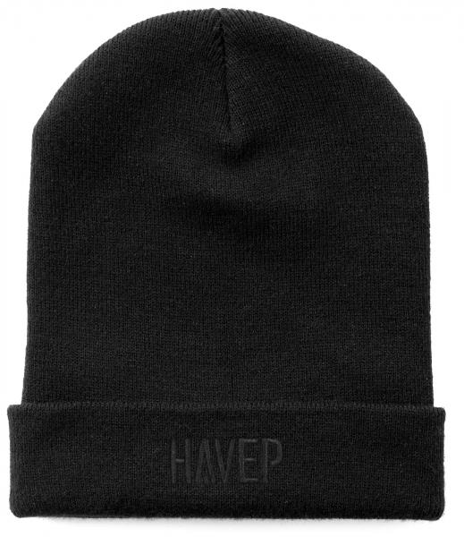 HAVEP-Winter-Mütze, schwarz