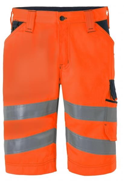 HAVEP-Warn-Schutz-Bermuda, 290 g/m², fluor-orange/marine