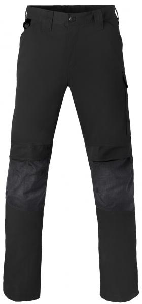 HAVEP Bundhose mit Knietaschen, schwarz/kohlengrau