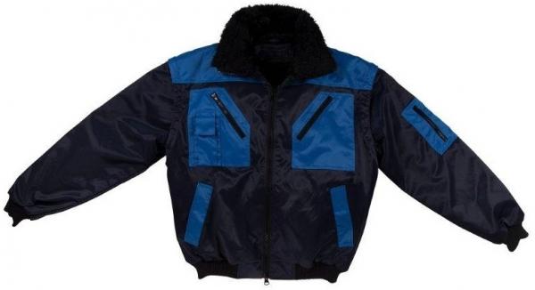 WATEX-Kälte-Schutz, Winter-Arbeits-Berufs-Piloten-Jacke, 2 in 1, marine/royal