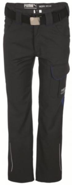 WATEX-PUMA-Workwear-Arbeits-Berufs-Bund-Hose, male, 245 g/m², anthrazit/blau