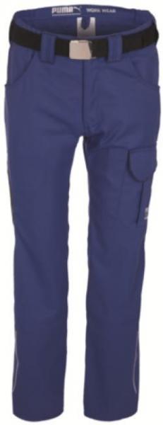 WATEX-PUMA-Workwear-Arbeits-Berufs-Bund-Hose, male, 245 g/m², blau/anthrazit