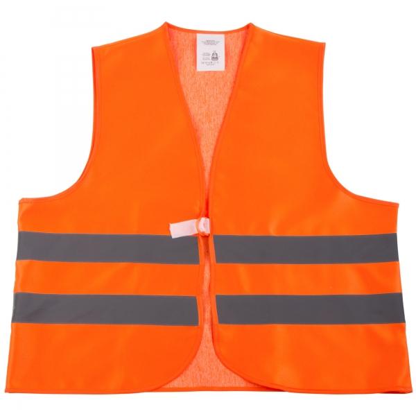 WATEX-Workwear, Warnweste, leuchtorange