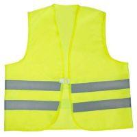 WATEX-Workwear, Warnweste, Doppelringverschluss, leuchtgelb
