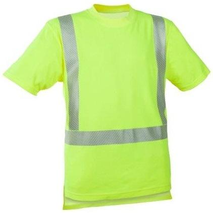 WATEX-Workwear, Warnschutz-T-Shirt, 185g/m² leuchtgelb
