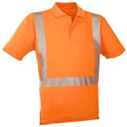 WATEX-Warn-Schutz-Polo-Shirt, 185g/m² leuchtorange