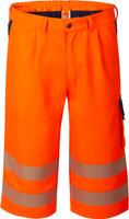 WATEX-Warn-Schutz-Shorts, leuchtorange / dunkelgrün