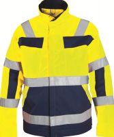 WATEX-Warnschutz-Bundjacke, leuchtgelb/marine