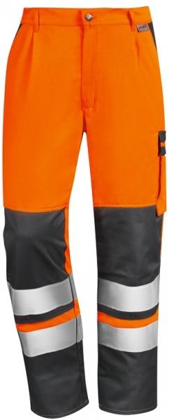 WATEX-Warnschutz-Bundhose, 240 g/m², leuchtorange/dunkelgrün