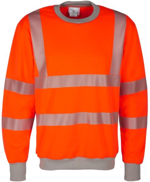WATEX-Warnschutz-Sweat-Shirt, leuchtorange