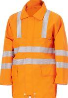 WATEX-Warnschutz-Jacke, Sympatex, mit Leib- und Ärmelfutter, leuchtorange