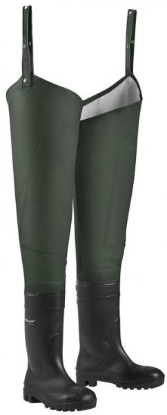 WATEX-Footwear, S5-Hochschaftstiefel, Diemel Super, m.PVC-Stiefeln, oliv