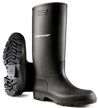 WATEX-PVC-Arbeits-Berufs-Gummi-Stiefel, Dunlop Pricemastor, schwarz