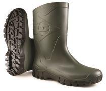 WATEX-PVC-Berufsstiefel, Dunlop Dee, grün/schwarz