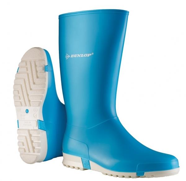 WATEX-PVC-Gummi-Stiefel, Dunlop Sport, hellblau
