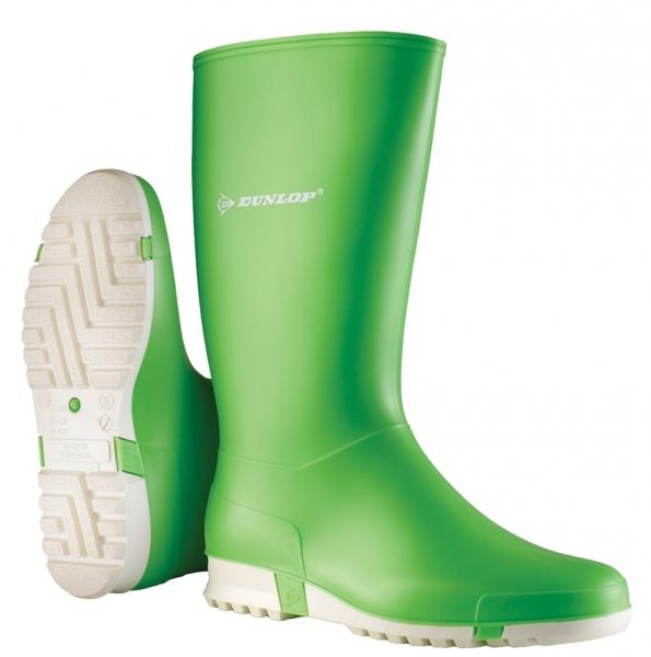 WATEX-PVC-Stiefel, Dunlop Sport, hellgrün