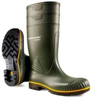 WATEX-PVC-Berufsstiefel, Dunlop, grün/schwarz