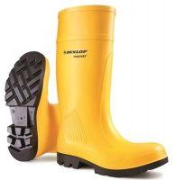 WATEX-S5-PU-Sicherheitsstiefel, Dunlop Purofort, gelb