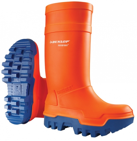WATEX-S5-PU-Sicherheits-Winterstiefel, Dunlop, orange