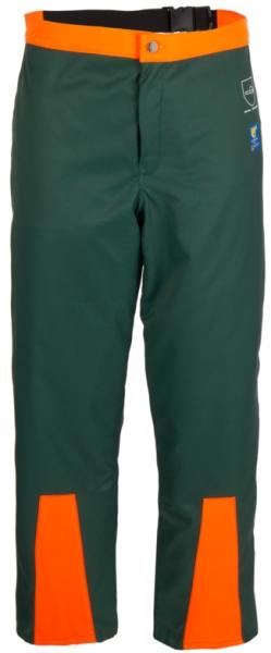 WATEX-Forst-Arbeits-Schnitt-Schutz, Waldarbeiter-Beinling, grün-orange