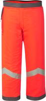 WATEX-Forst-Arbeits-Schnitt-Schutz, Forstschutz-Beinlinge, rot mit Reflaxstreifen